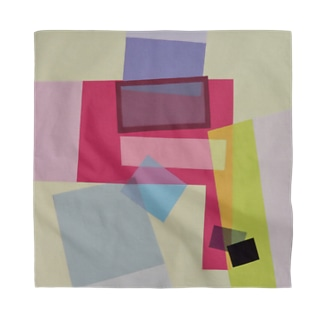 ララ Abstract letter series Bandana