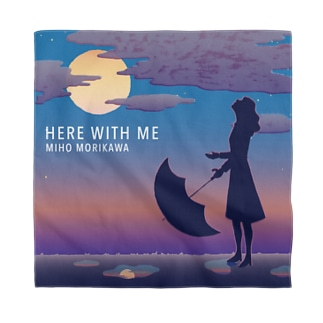 バンダナ【HERE WITH ME】 Bandana