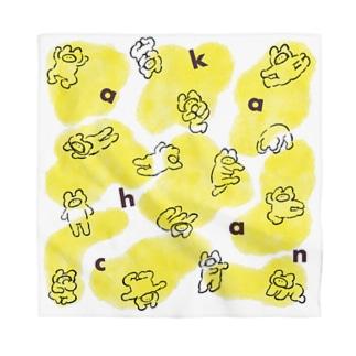 空飛ぶ赤ちゃん黄色多め Bandana