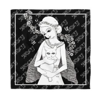 I Wont to be a cat(背景あり) Bandana
