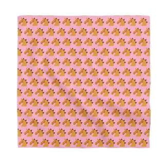 メニメニオグサン ピンク Bandana