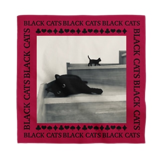 黒猫ちゃんのつどい Bandana