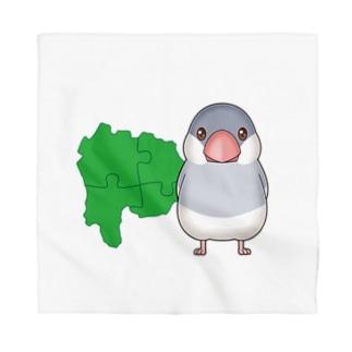 やまなしラボ文鳥カラー Bandana