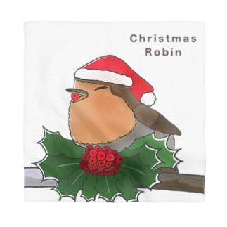 ヨーロッパコマドリ(クリスマスロビン) Bandana