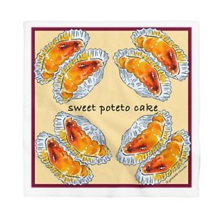 お菓子シリーズ Sweet Poteto Cake Bandana