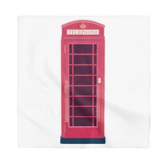 イギリスのテレフォンボックス Bandana