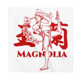 おうりょうじの玉蘭red(白木蓮/ハクモクレン/マグノリア) Bandana