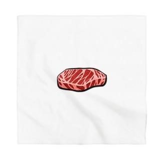 お肉 Bandana
