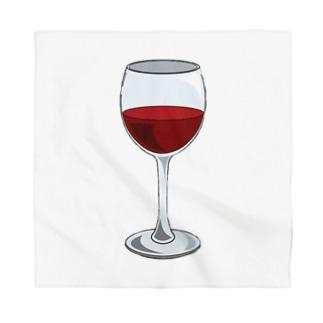 ワイングラス Bandana