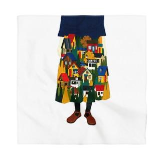 秋のスカート Bandana