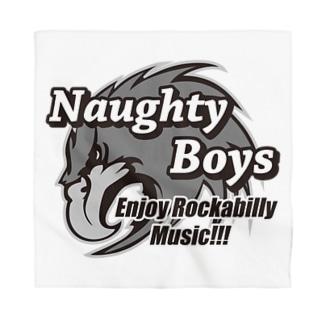 Naughty Boys モノクロキャラ Bandana