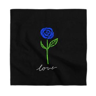 青い薔薇 Bandana
