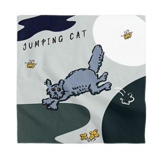 ジャンピング猫ちゃん Bandana