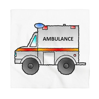 救急車Ambulance Bandana