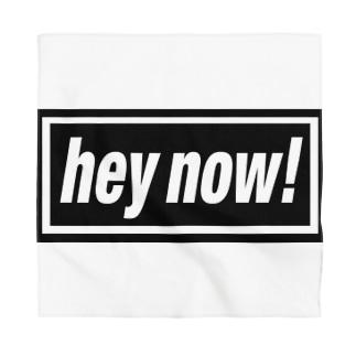 hey now!-ヘイナウ!-BOXロゴ Bandana