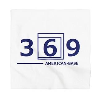 アメリカンベース  の369 数字 Bandana
