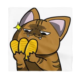 思う屋の価値の分かる猫 Bandana