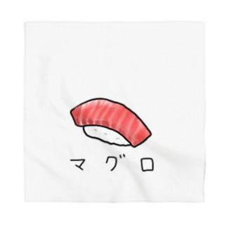 マグロのお寿司 カタカナ Bandana