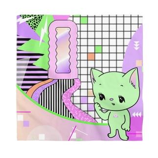 What is cute? メロンクリーム猫さん Bandana