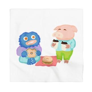 Pig & Yeti Series 10 Bandana