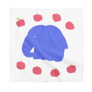象🐘と林檎🍎  Bandana
