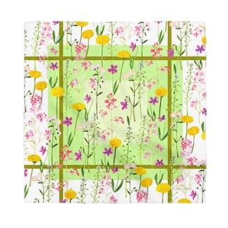 YURI MIUのFlower Field * 野の花々 Bandana