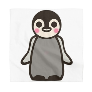 わくわくしている子ペンギン Bandana