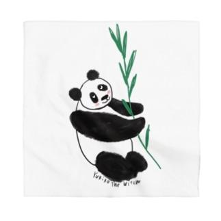 友人はパンダが大好き❤️ Bandana