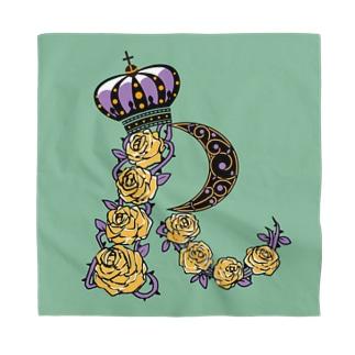 R for roses/バンダナ Bandana