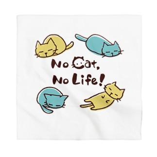 No cat, No Life! Bandana