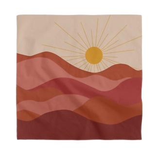 はじまりの太陽 -深い紅- Bandana