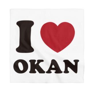 I love okan Bandana