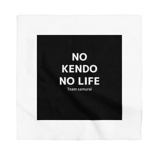 剣道無くば人生無。 Bandana