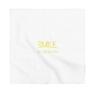Smile ロゴ Bandana