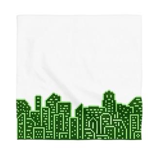 Buildings 緑 Bandana
