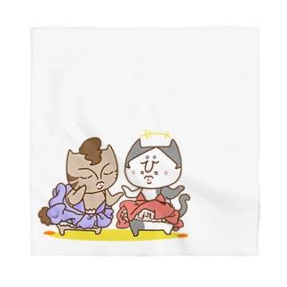 お悟り猫たちの夜会 Bandana