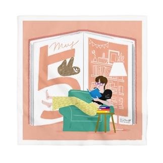 5月生まれの積読消化中、本の虫さん Bandana