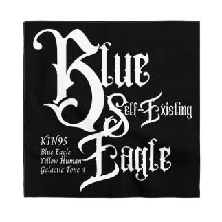 KIN95青い自己存在の鷲 Bandana