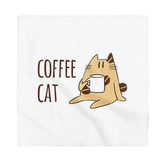 COFFEE CAT Bandana