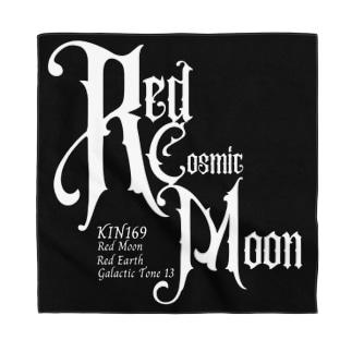KIN169赤い宇宙の月 Bandana