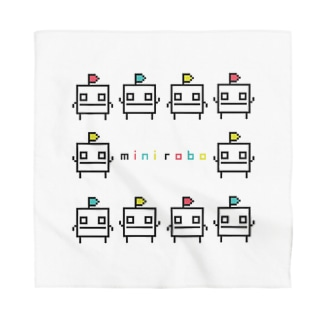mini-robo circle Bandana