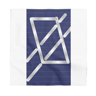 四角パターン3 Bandana