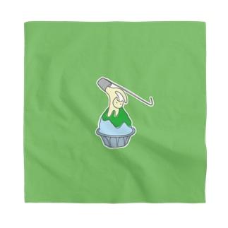 練乳ねこかき氷(メロン/抹茶) Bandana