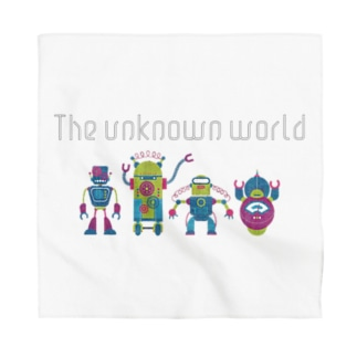 the unknown world Bandana