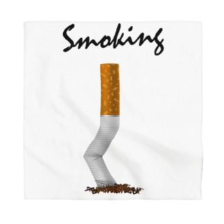 Smoking-タバコの吸い殻- Bandana