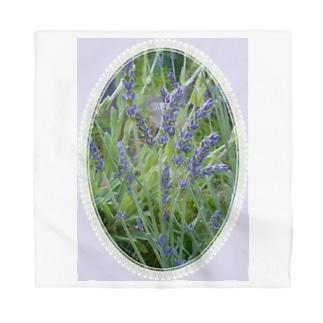 Lavender decorative - 19世紀風 -  Bandana