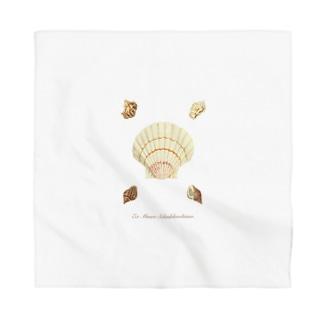 貝がら seashells Bandana