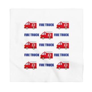 フォーヴァの 消防車 Bandana
