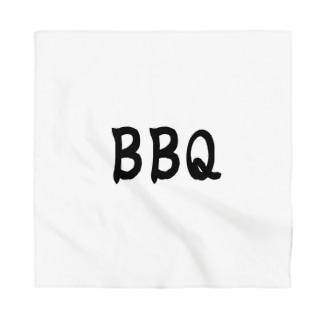 夏、肉、BBQ、バーベキュー Bandana
