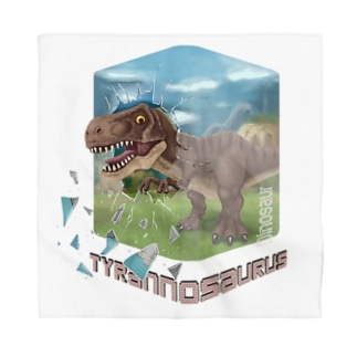 ティラノサウルス Bandana